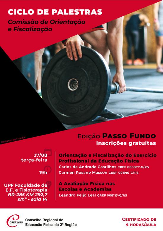 2dbb5d164410 Conselho Regional de Educação Física do Rio Grande do Sul :: CREF2/RS ::